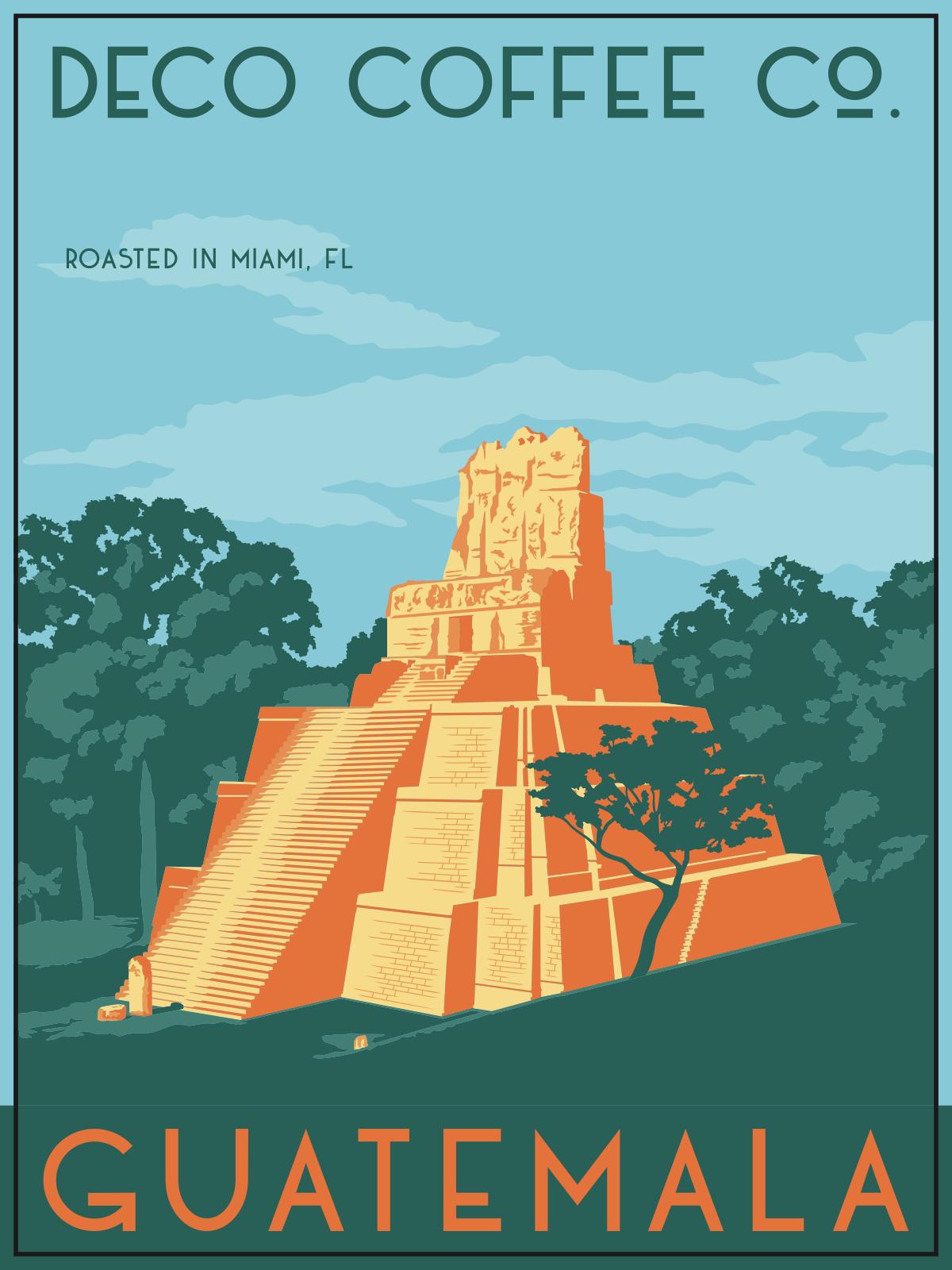 Guatemala Label