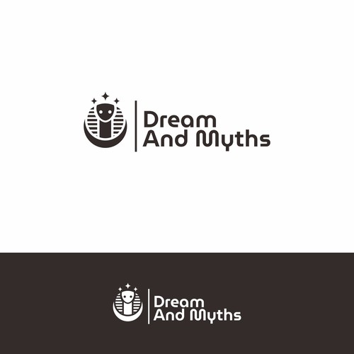 logo concept for DREAM AND MYTHS
