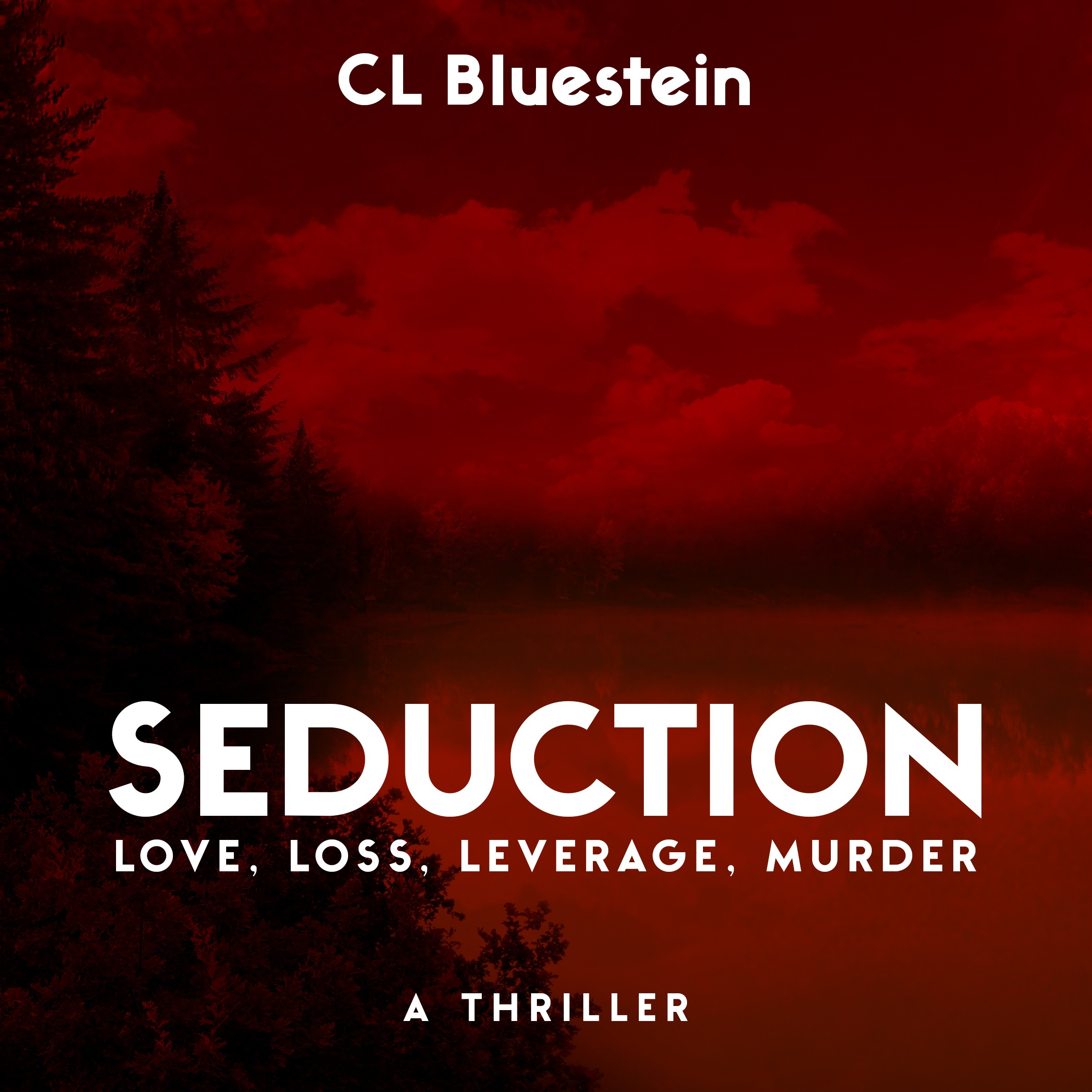 Seduction: Love, Loss, Leverage, Murder (Audiobook Cover)