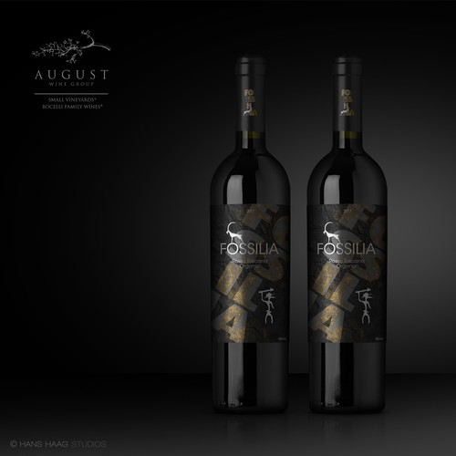 Winelabel for August Wine Group