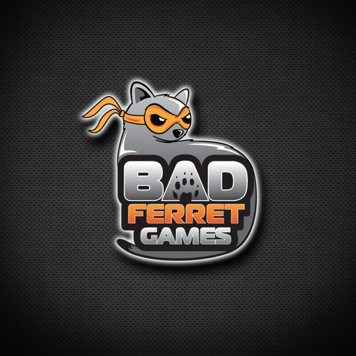 Logo for BAD ferret games