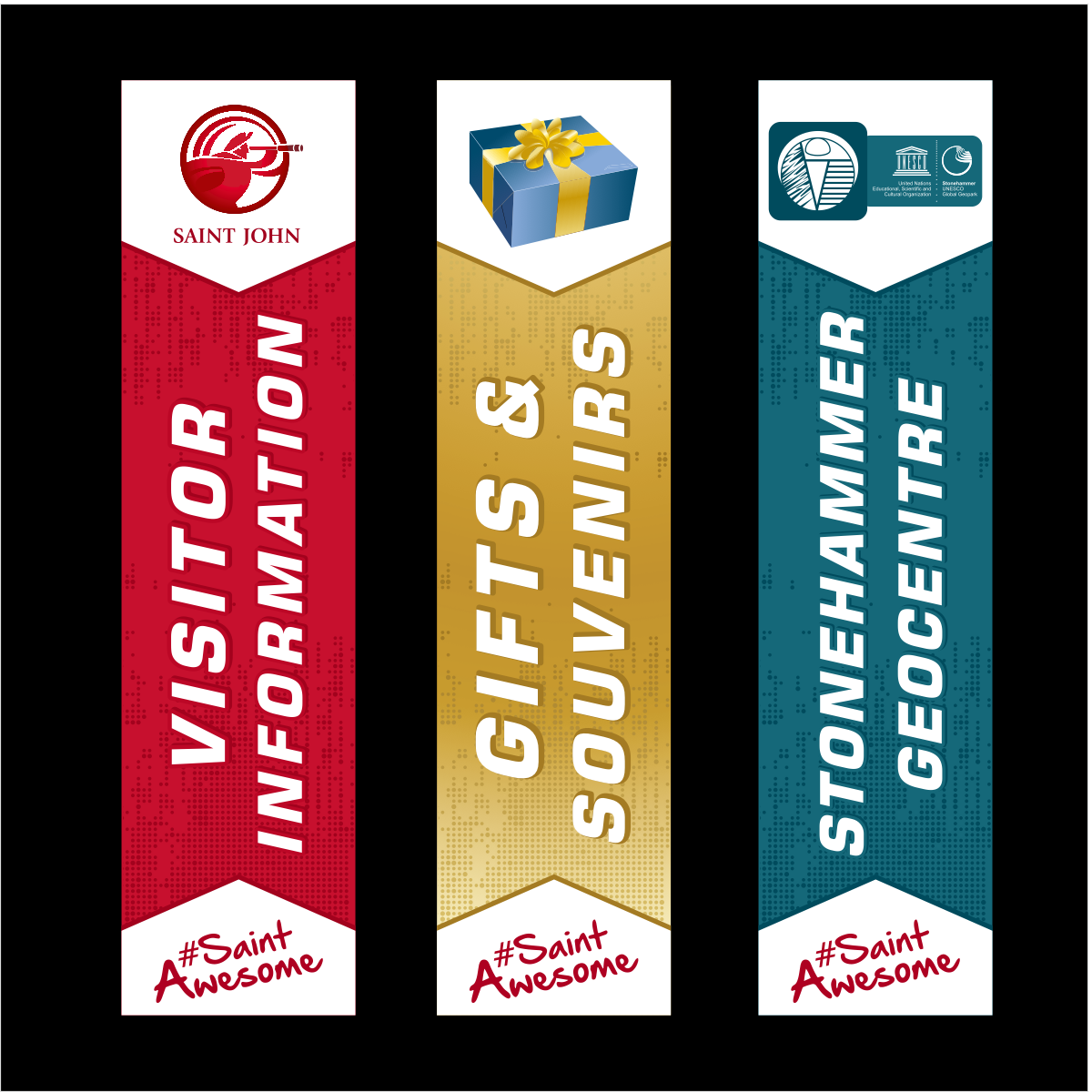 3 banners