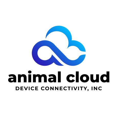 Animal Cloud Device Connectivity logo that rocks as an animal & humanity forward tech company!!