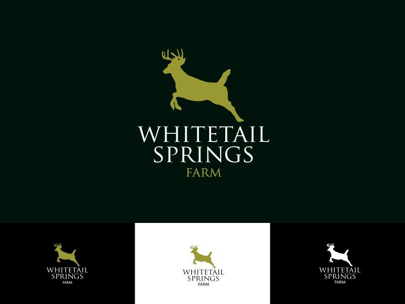 Whitetail Springs Farm  needs a new logo