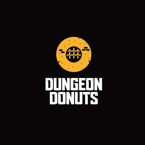 Logo for donut shop