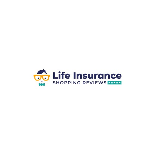 Bold logo for Life Insurance review company.