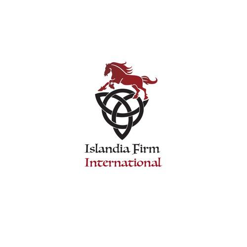 Logo Concept for Islandia Firm International