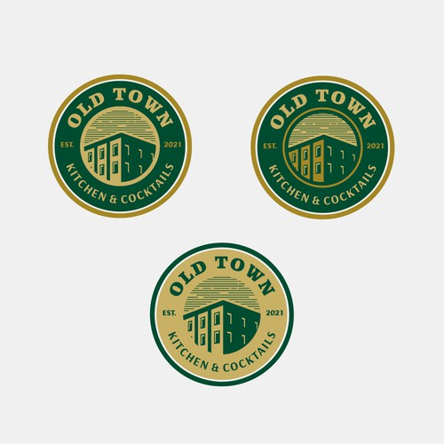 Logo concept for Old Town Restaurant