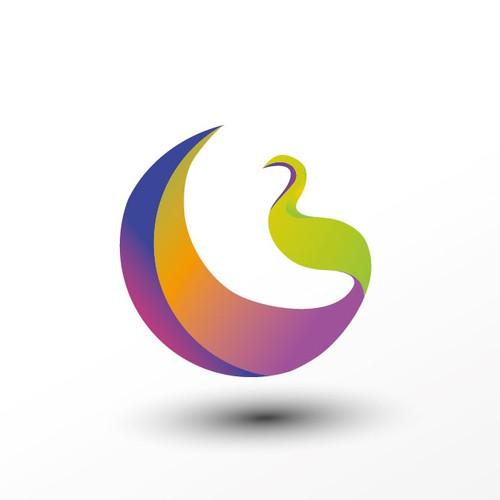 Happy Peacock Media Logo