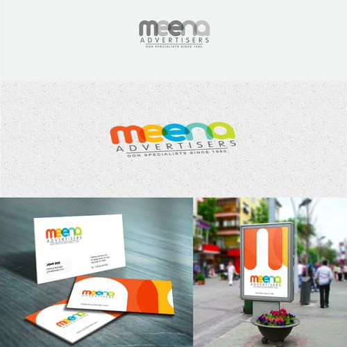 Design a Logo and Business Card for a leading outdoor AdvertisingCompany