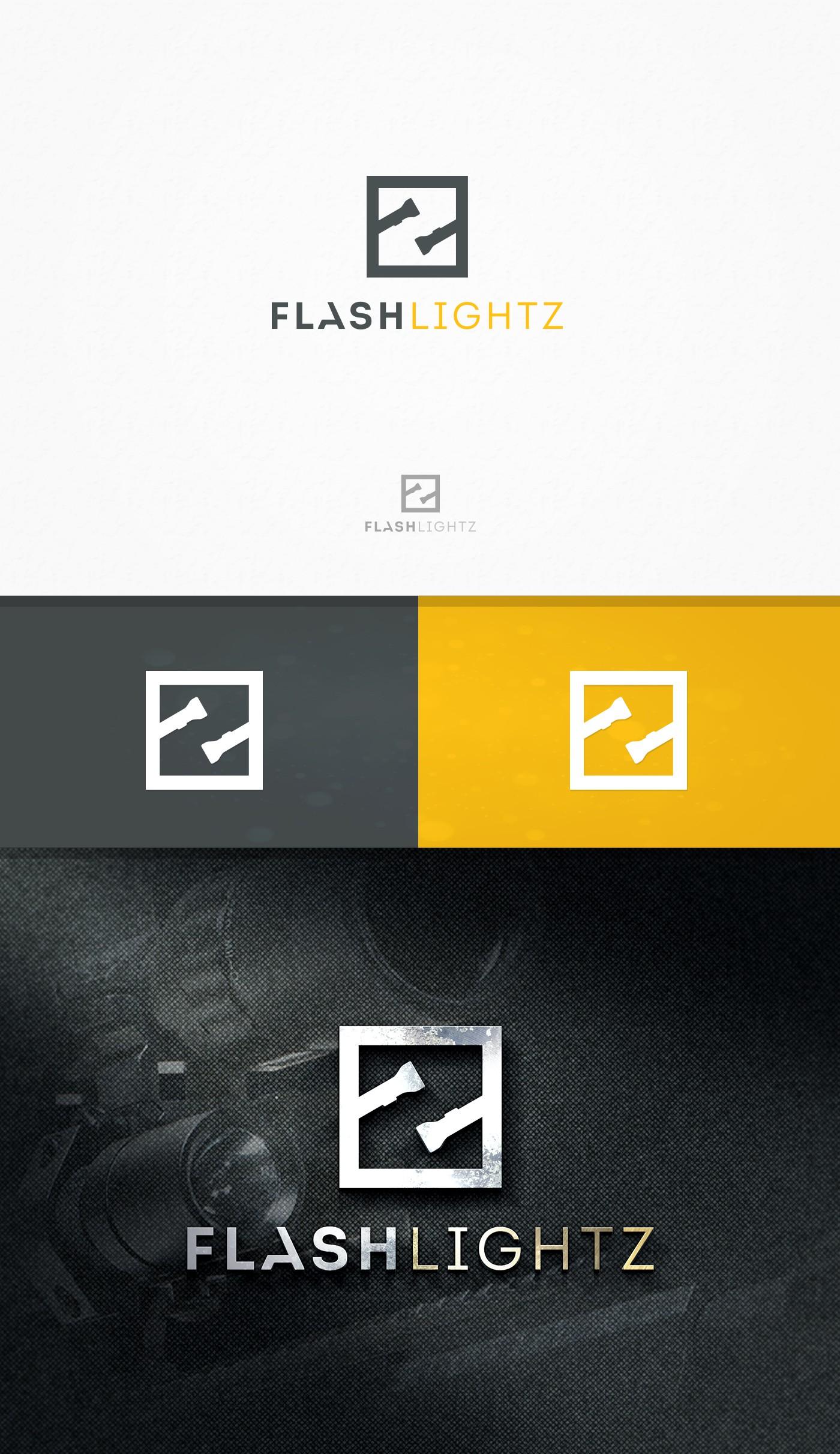 Creating a logo for Flashlightz.com