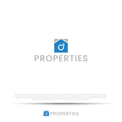 simple modern real estate logo