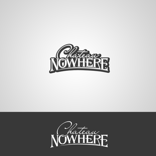 Create the logo of Château Nowhere (Indie rock band from Austin, TX / Paris, FR)