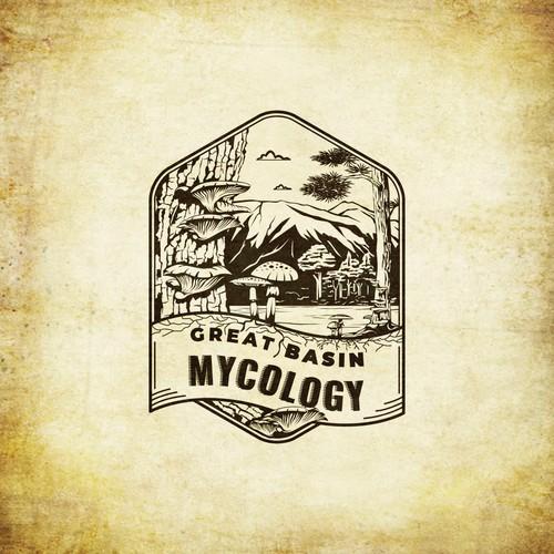 Great Basin Mycology Logo