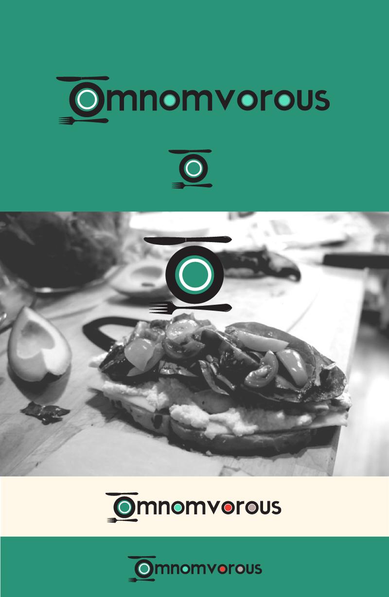 Omnomvorous food blog needs a brand new logo