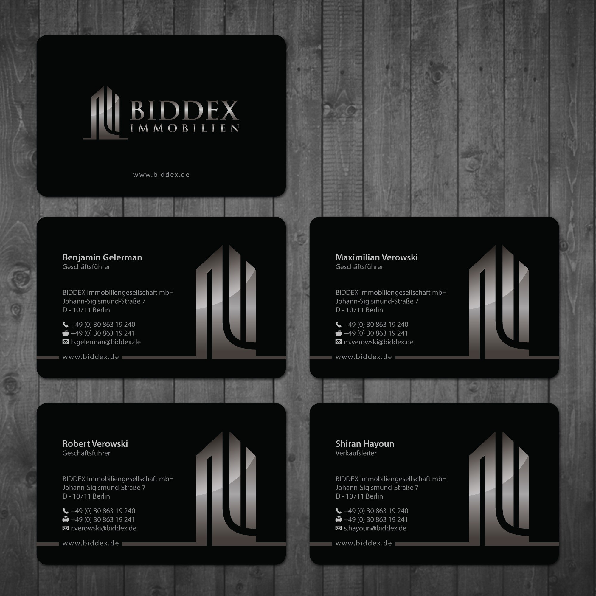 BUSINESS CARD FOR REAL ESTATE COMPANY!!!!!