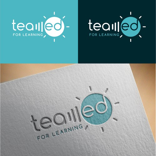 logo design for 'teamed'