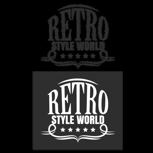 Logo Concept for Retro Style World