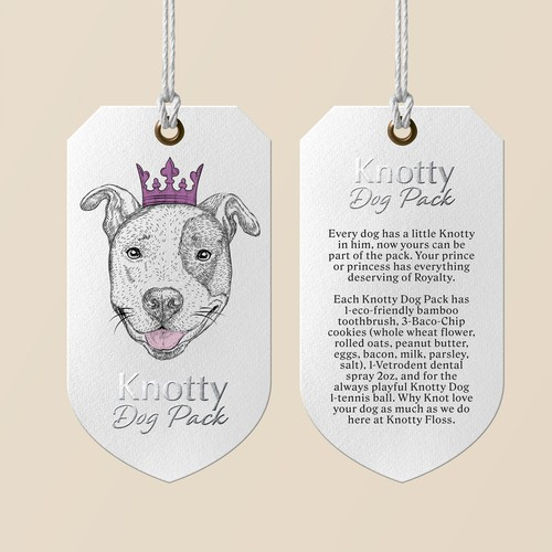 Tag for Dog Pack