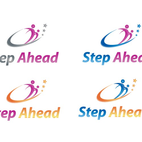 Create the next logo for Step Ahead