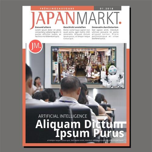Bussines Magazine Cover concept