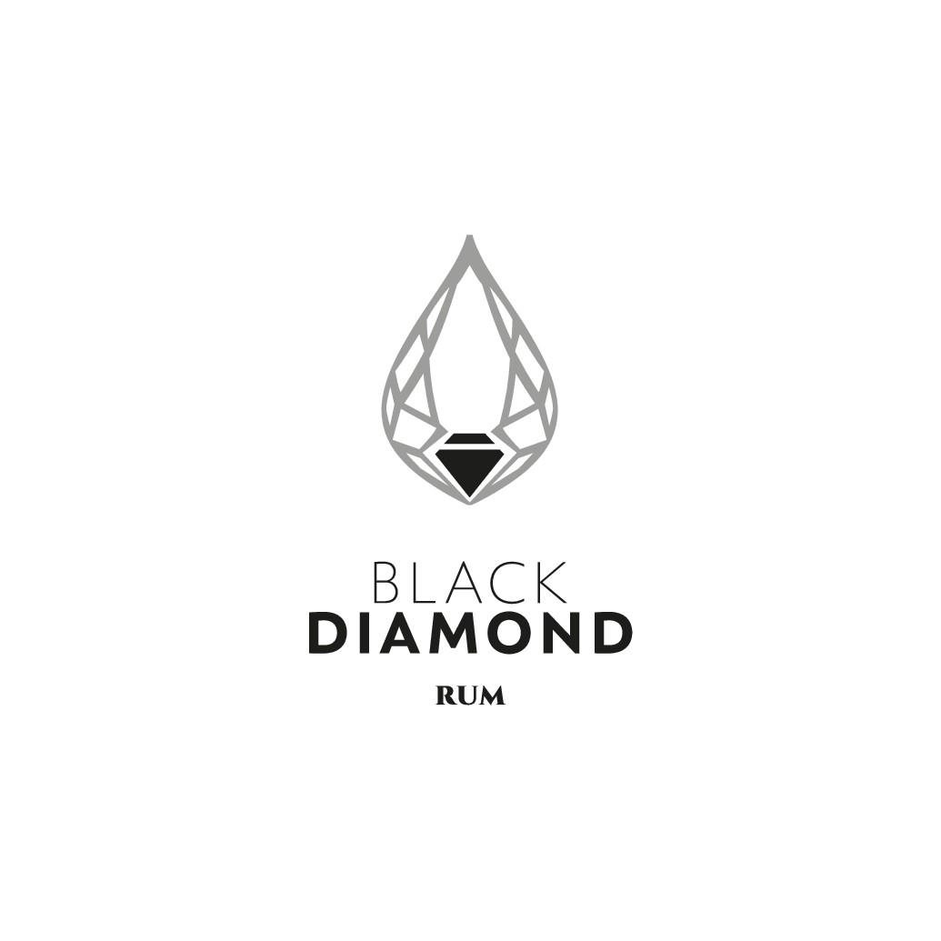 Premium rum brand logo