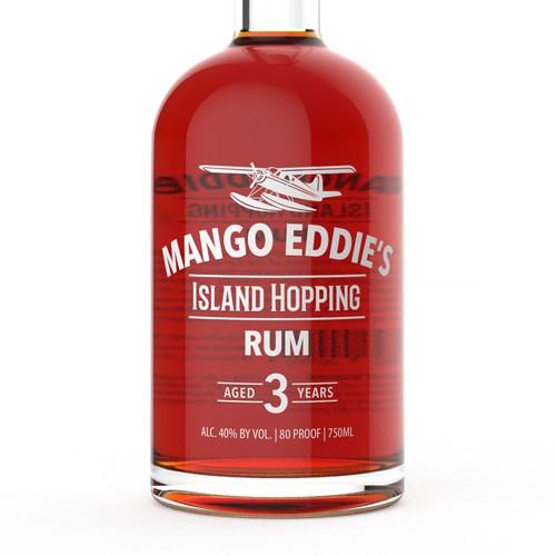 """芒果Eddie的朗姆酒瓶设计""""title="""