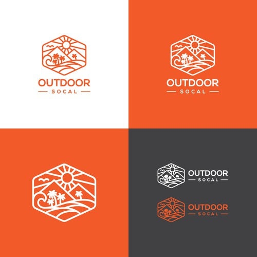logo for OUTDOOR SOCAL