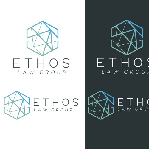 Logo Concept for Ethos Law Group**
