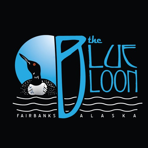 Blue Loon Nightclub Logo