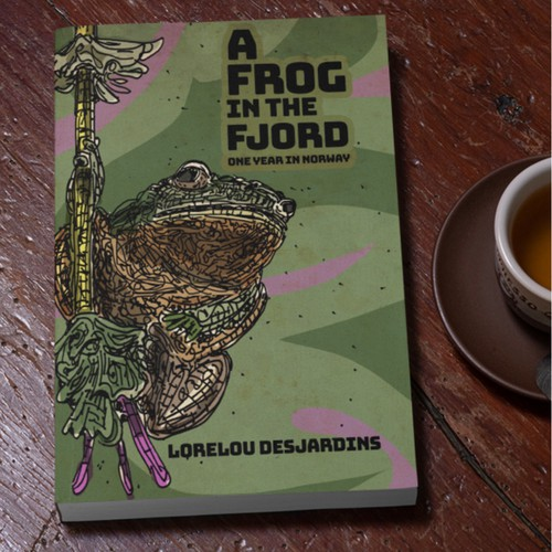 A frog in the Fjord