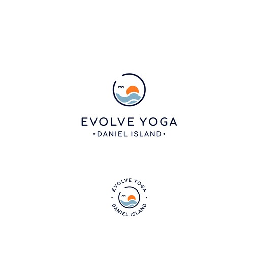 Logo for Evolve Yoga