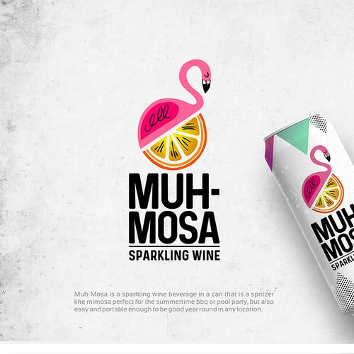 Logo & social media pack for MUH-MOSA Sparkling Wine