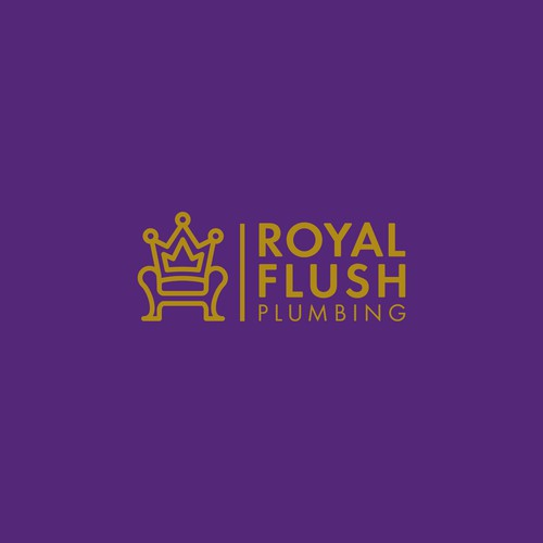 Royal Flush Plumbing logo