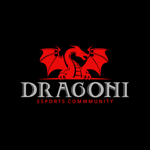 Angry Dragon Guardian Logo