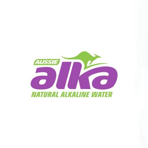 International bottled water brand logo