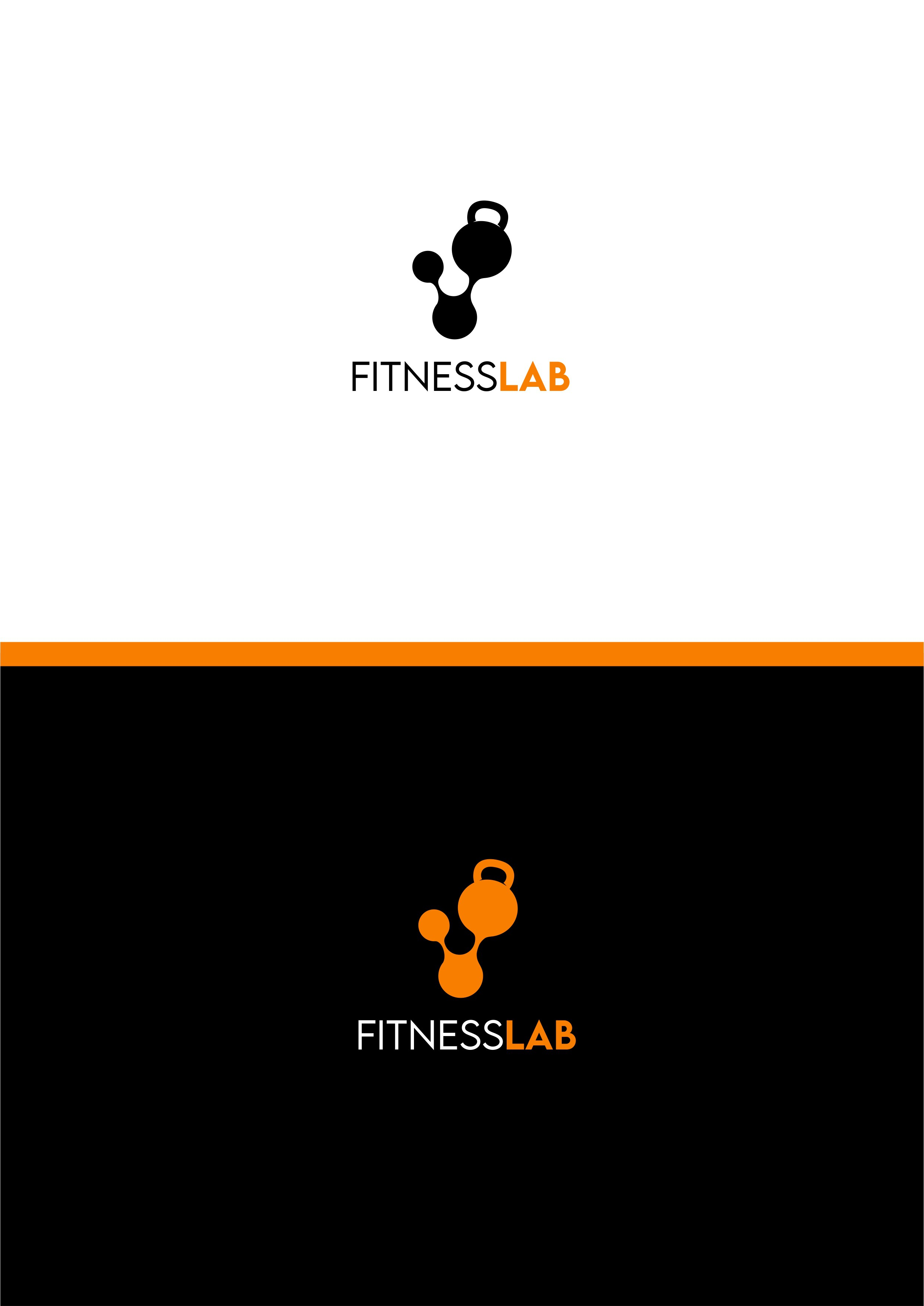 Design a clever logo for a fitness studio