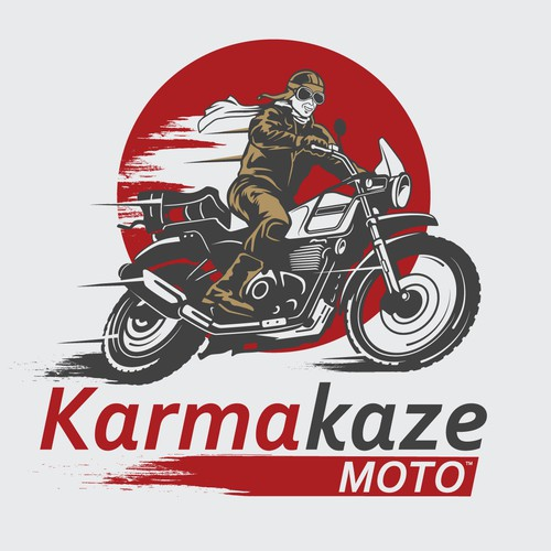 Logo for Motorcycle adventure channel