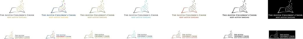 Create an eye catching logo for the oldest children's choir in Austin, TX