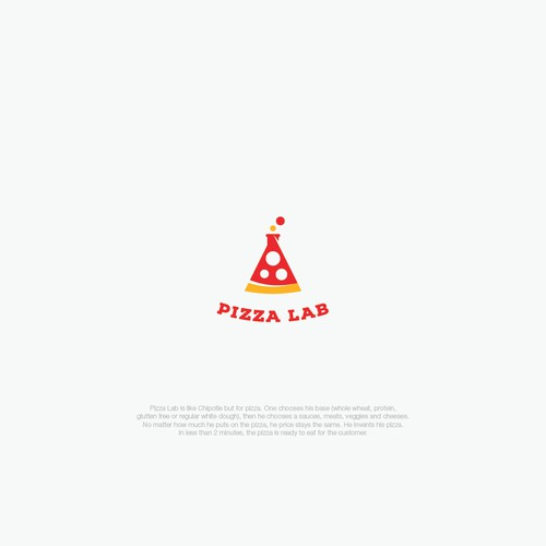 Modern sexy logo for Pizza Lab
