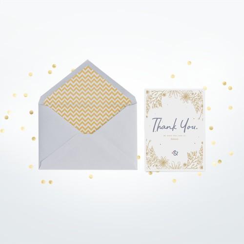 Thank-You Card Concept