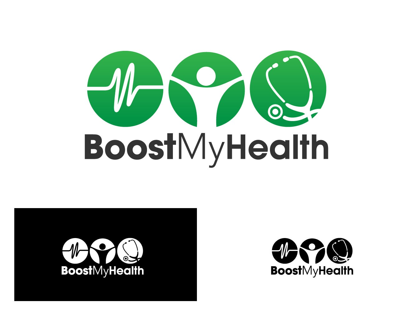 Boost My Health needs a new logo