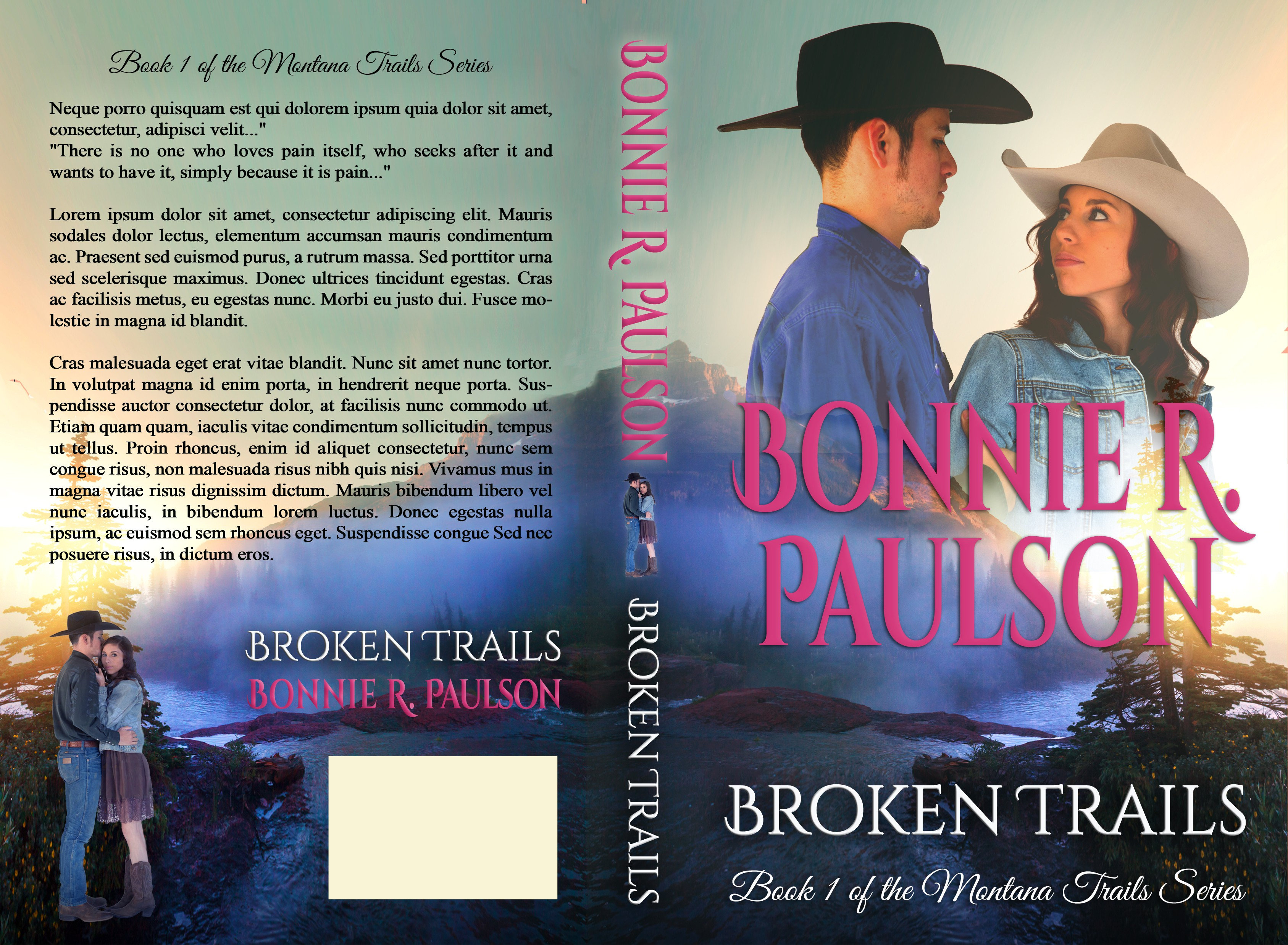 Create a book cover for a highly anticipated Western Romance!