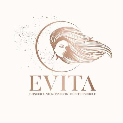Cosmetics & Beauty illustrative logo concept