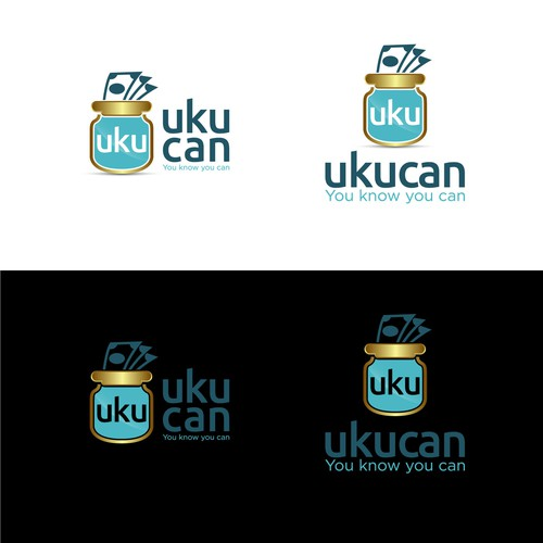 Bold logo concept for UKUCAN.