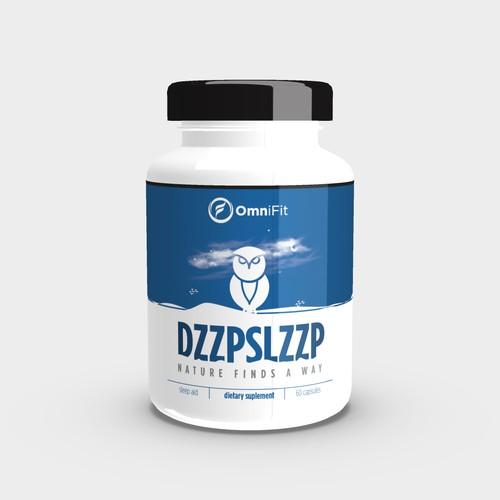 Bottle label for DZZPSLZZEP