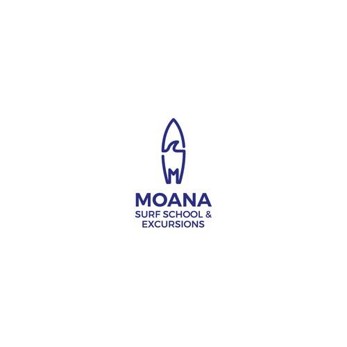 Moana Surf School logo