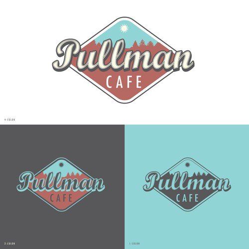 Logo concept for cafe