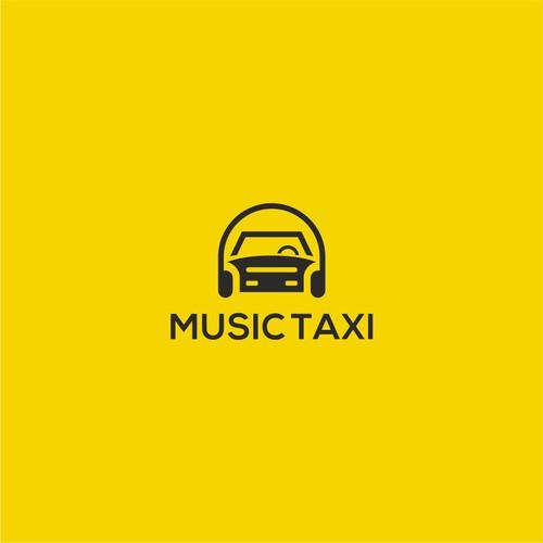 Music taxi logo