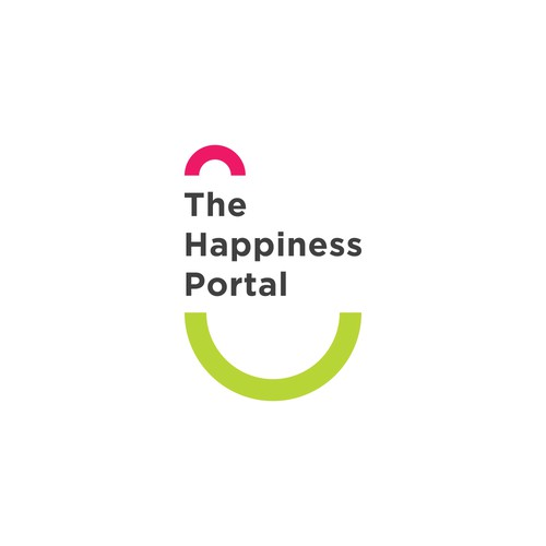 A logo proposal for the happiness portal / publisher.